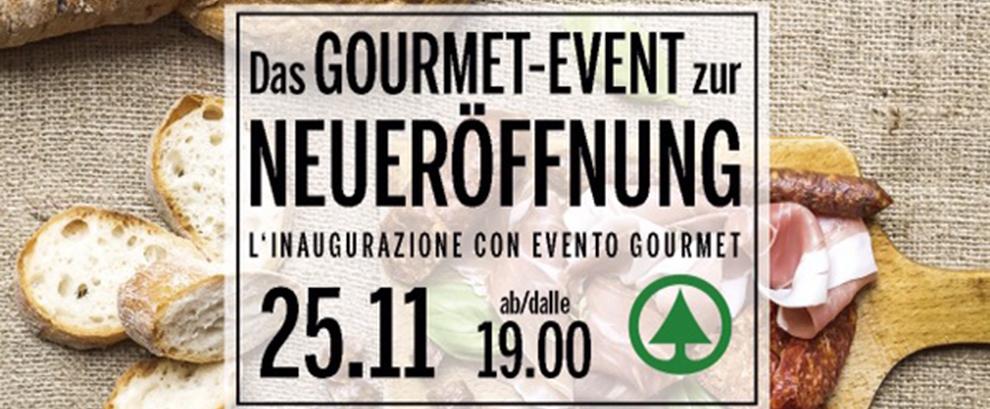Das Gourmet-Event zur Neueröffnung!